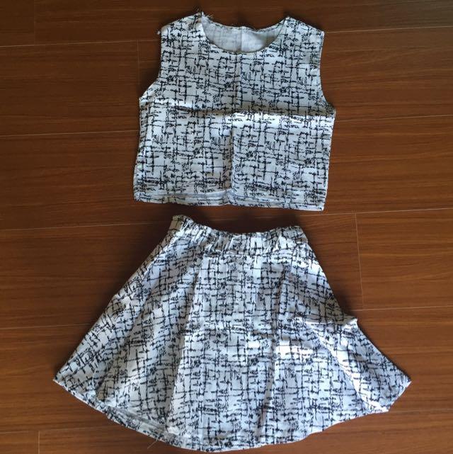 韓版🇰🇷 兩件式洋裝
