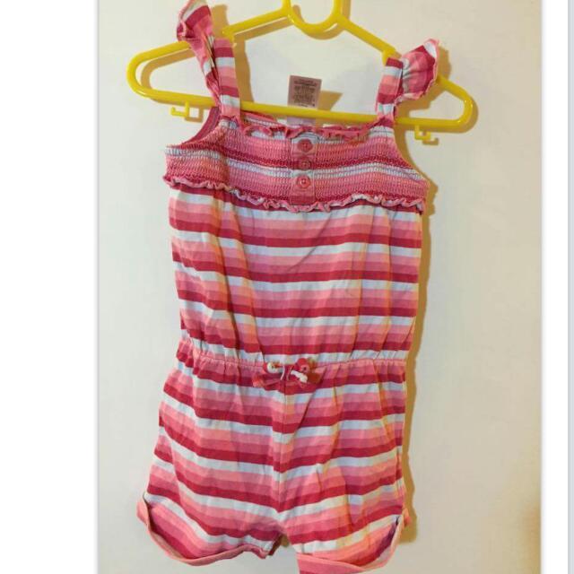 澳洲品牌童裝 橫條連身褲 ~8kg