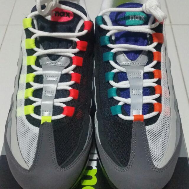 new styles 6af9d 9803a Nike Air Max 95 Greedy 9 US