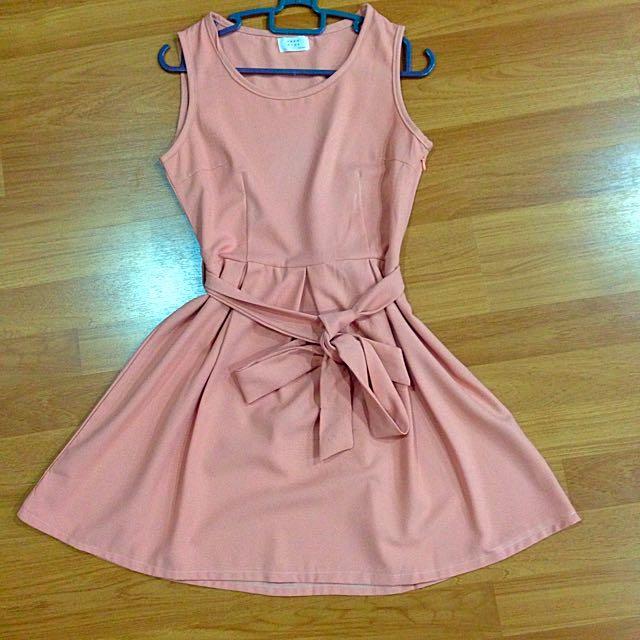 [MSIA] Beige Pinky-ish Dress