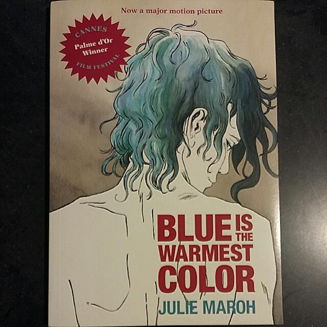 Blue is the warmest Color Colour By Julie Maroh Graphic Novel Comic ...