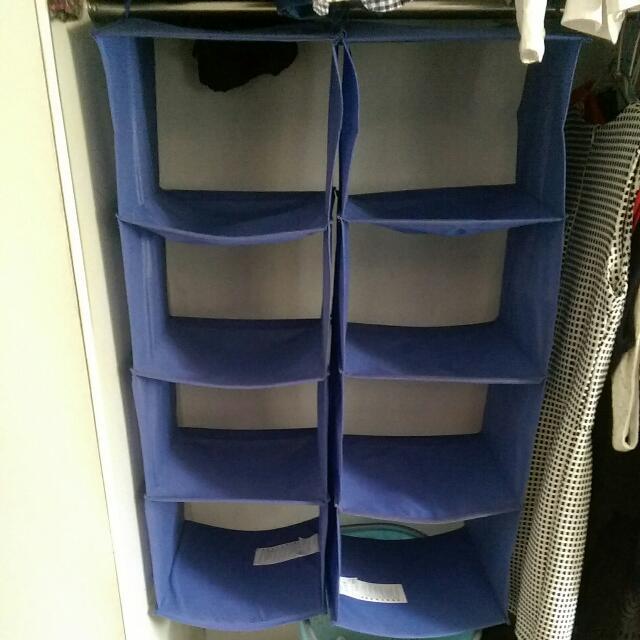 Ikea 輕便型製物隔層