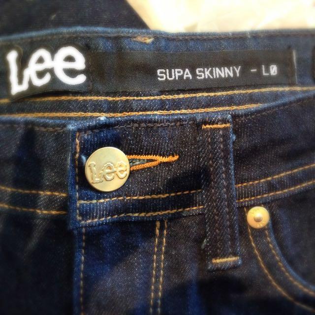 Ladies Lee Supa Skinny Jeans