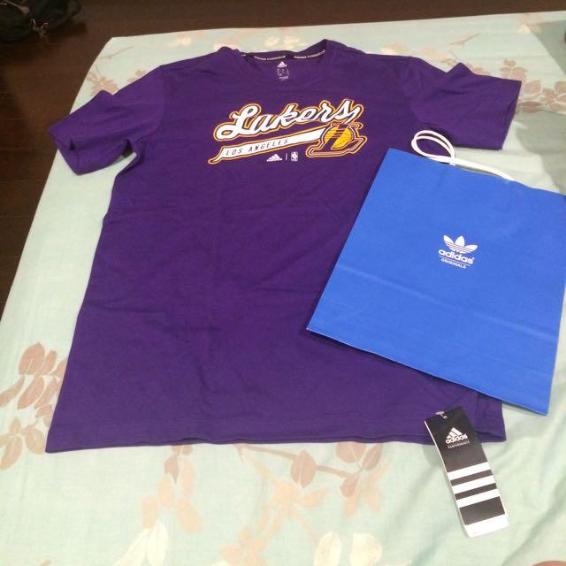 (保留中)🇭🇰 Lakers 湖人隊 Adidas 艾迪達 T-Shirt