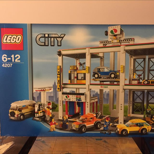 Lego 4207 Car Garage City Toys Games On Carousell