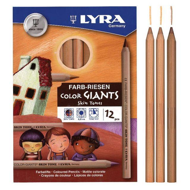 Lyra Skin Tones Giant Pencils