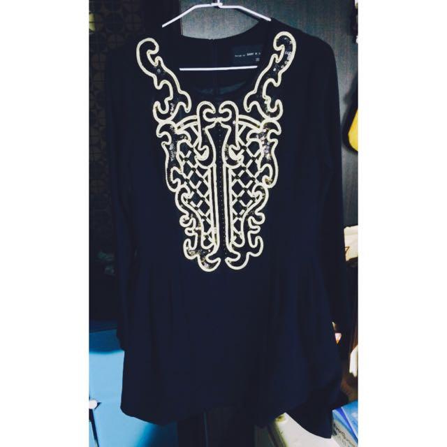 正韓 絲質洋裝M號