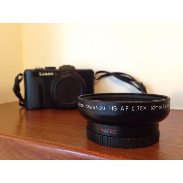 NIPPON KAWASAKI HG AF 52mm 0.75x 58mm 外接鏡頭