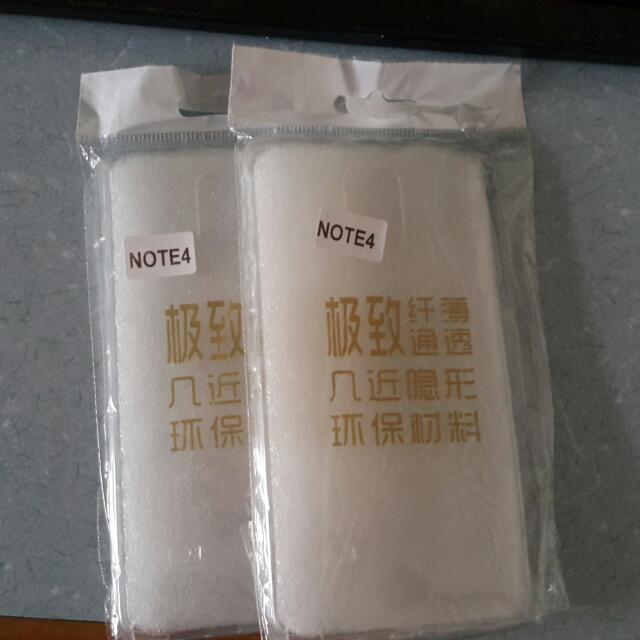 Note4 透明殼(2入)