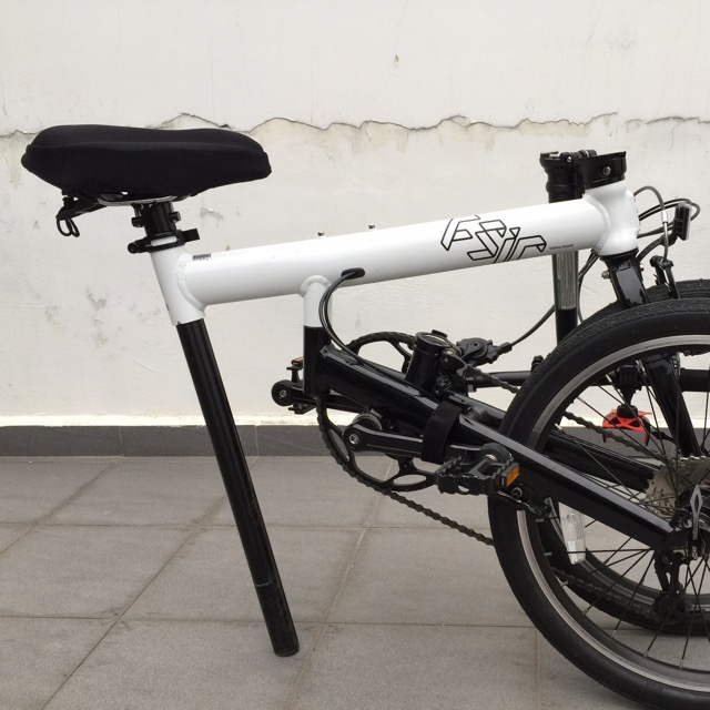 Pre Loved Fsir Spin 5 Folding Bike Sports On Carousell