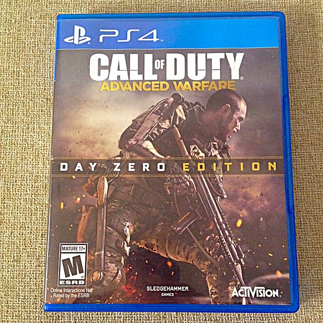 PS4 Call Of Duty Advanced Warfare Trade or Sell