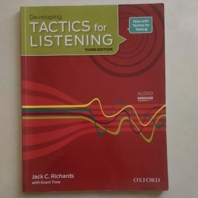 Tactics For Listening -third edition
