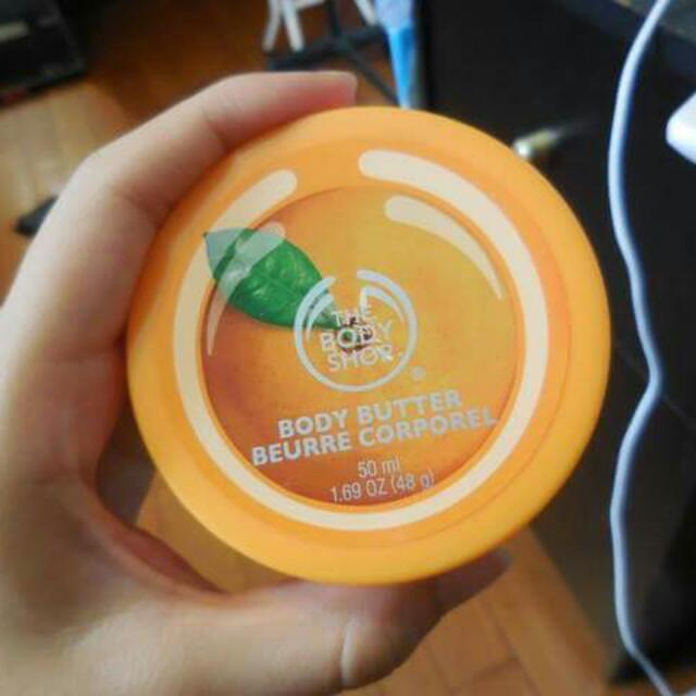 ✨免運✨the body shop柳橙滋養身體乳50ml