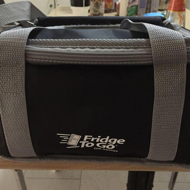 Used Once Fridge-To-Go Cooler Bag