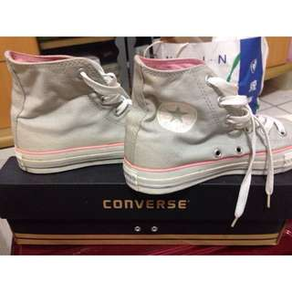 🔷(待匯款)Converse高桶帆布鞋