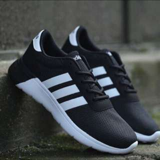Adidas Lite Racer 愛迪達 跑步鞋 NEO 黑白 男女鞋款