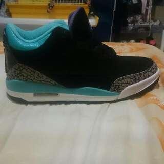 Jordan 3代 T綠黑