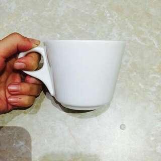[近新品]白色 純白 咖啡杯 水杯