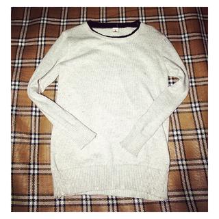 [女裝]冬天米色毛衣