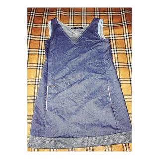[女裝]7crash / seven crash / 雙色拼接休閒口袋洋裝