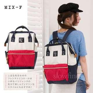 (現貨+預購)日本同步原廠原單超大容量ANELLO 媽媽包 後背包 *紅藍白