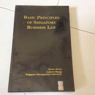 Basic Principles Of S'pore Business Law