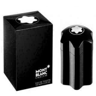 100ml Mont Blanc Emblem for men Edt Spray **All Perfume listed are 100% Authentic & Brand New.**