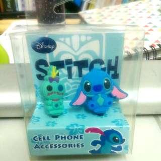 正版Disney史迪奇耳機防塵塞