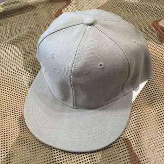 素色棒球帽(淺灰)