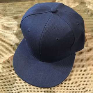 素色棒球帽(靛藍)