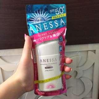 日本製anessa 美白防曬乳(含運接受小議價)