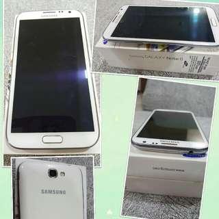 Samsung Note 2 Hp White.