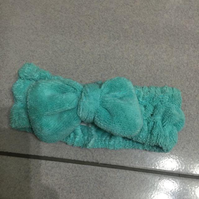 可愛蝴蝶結髮帶