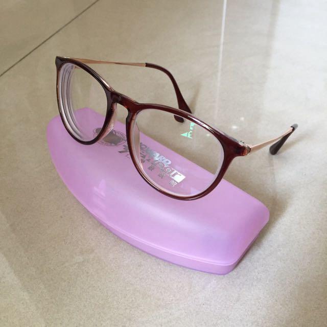 復古造型眼鏡(有度數)