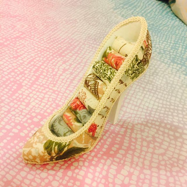 復古玫瑰跟鞋