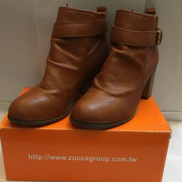 (待匯中)二手韓組咖啡色短靴