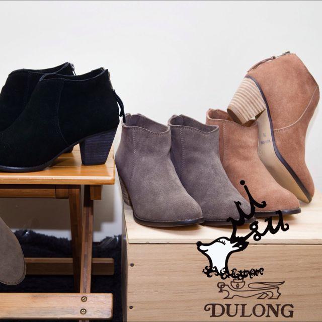 韓風-秋季限定 「短靴」共有三色