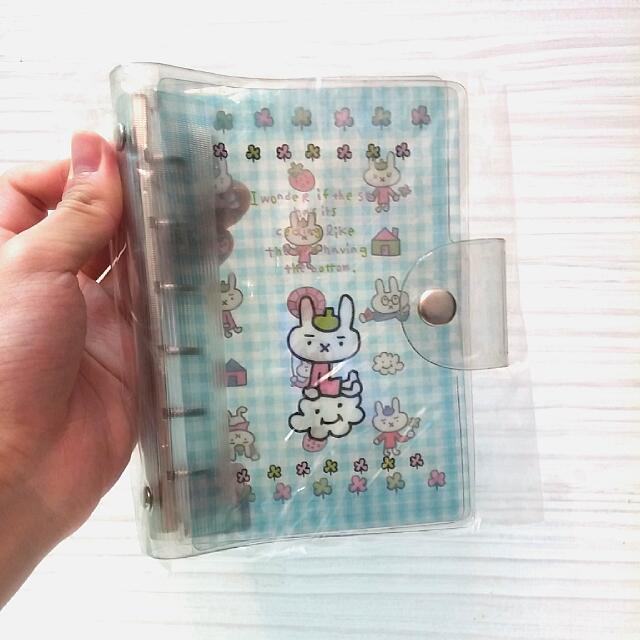 日本帶回 六孔簿 兔子