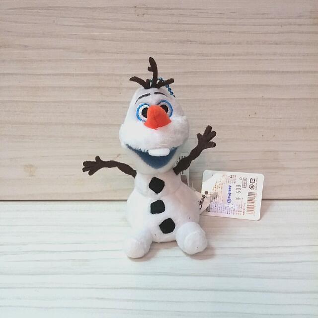 日本帶回 冰雪奇緣 雪寶 Frozen 布偶 吊飾