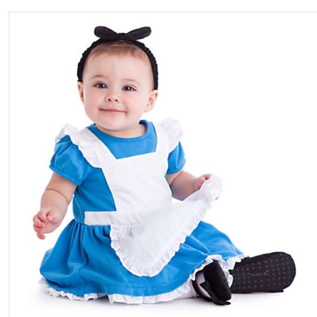 美國迪士尼 愛麗絲夢遊仙境 Baby裝
