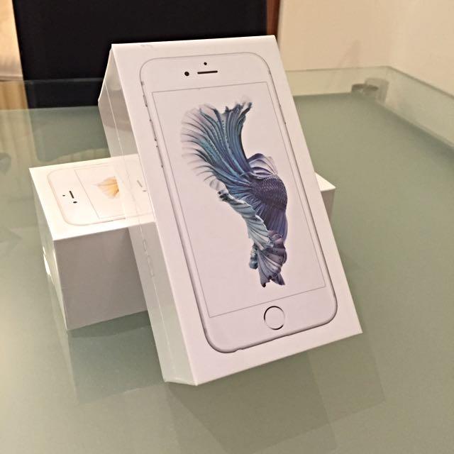 BNIB iPhone 6s Silver 64GB sealed