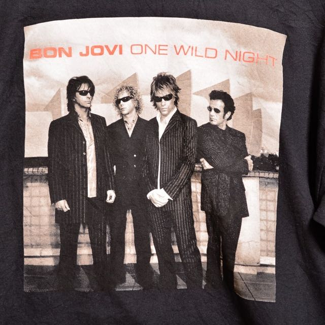 Bon Jovi 2001 Tour T-shirt