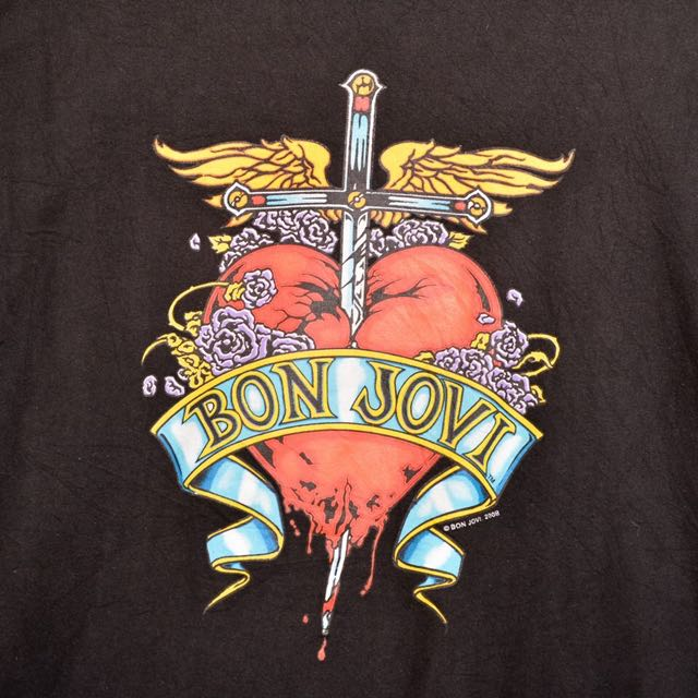 Bon jovi 2008 Lost Highway T-shirt