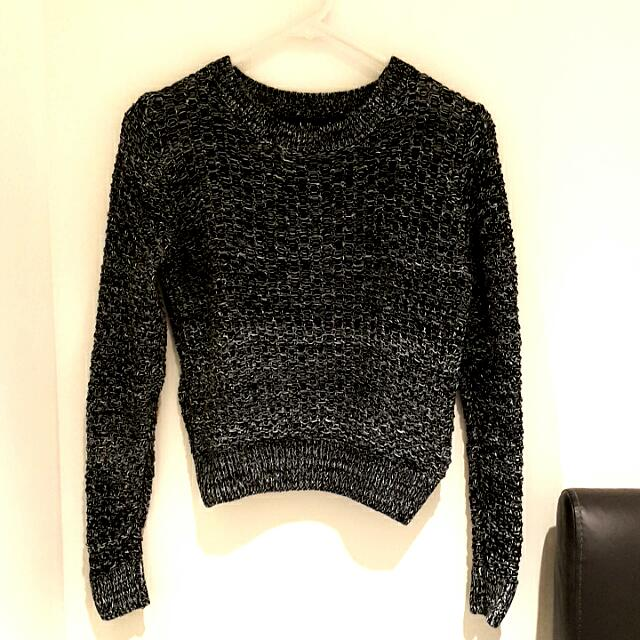 Dotti Dark Grey Sweater