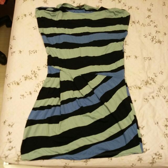 Le Polka 造型洋裝(L號)