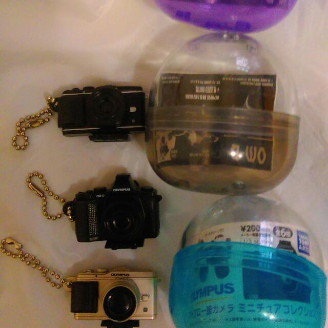 Olympus 相機 扭蛋 四個一起賣$200含運
