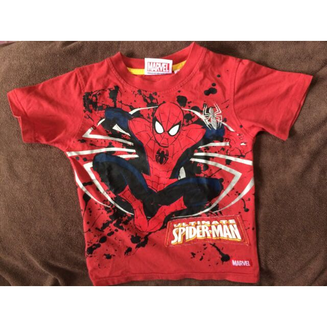 d0d350e8e Original Marvel Spiderman T-Shirt (RESERVED), Babies & Kids on Carousell