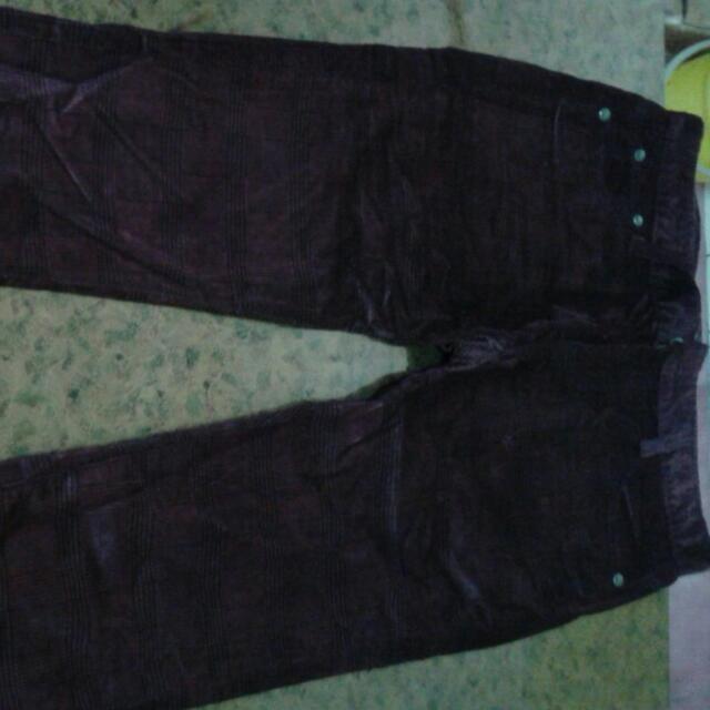 PSGB,彈性褲,暗紅色,穿過一次