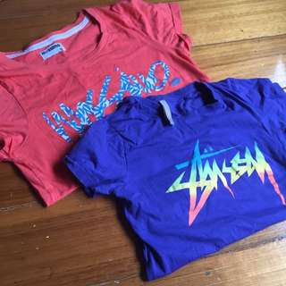 MOSSIMO AND STUSSY TEE TOP