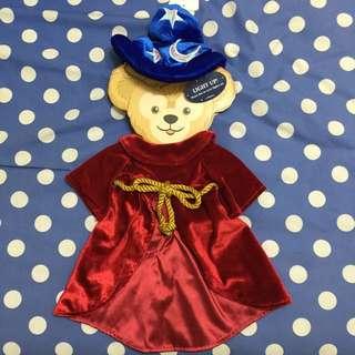 全新 香港 Disney  Duffy魔法師裝,僅有衣服